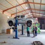 Garage 232 armoured vehicle maintenance